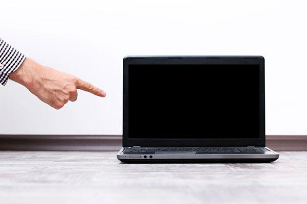 averías en la pantalla del portátil